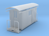 Sn2 short round roof baggage car 3d printed