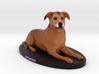 Custom Dog Figurine - Jazmine 3d printed