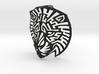 Modern Faux Taxidermy - Lion Head (M) 3d printed