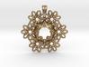 OCEAN FORMS Designer Jewelry Pendant 3d printed