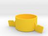 Cork Dorks™ Petite Feet 3d printed