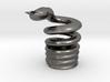 Snake Cigarette Stubber 3d printed Snake Cigarette Stubber in polished nickel steel