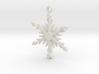 Icy Snowflake 3d printed