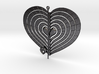 Heart Swap Spinner Flat Radial Etch - 15cm 3d printed