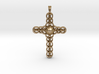 Design CROSS Jewelry Pendant in Silver | Gold  3d printed
