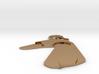 Large greyhound dog pendant 3d printed