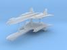 1/700 SR-71A Blackbird (x2) 3d printed