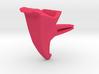 Voituré 'V' - Car Interior Flower Pot 3d printed Voiture - Car interior clip-on flower pot