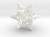 Rhombic Triacontahedron V, medium 3d printed