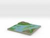 Terrafab generated model Fri Dec 19 2014 23:52:10  3d printed