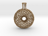 Double Vortex Coils Sculpture 3d printed