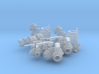 """Fire Fitting set """"B"""" (small) (1/24 scale) 3d printed"""