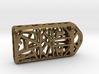 Cat Lantern 1: Tritium (Silver/Brass/Plastic) 3d printed