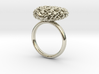 365 Hearts Ring 3d printed