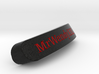 MrWendyXXL Nameplate for SteelSeries Rival 3d printed