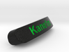 Kane1m Nameplate for SteelSeries Rival 3d printed