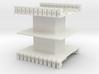 AMCC10 c-core bobbin - dual chamber - 44pin 3d printed