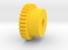 Inventing room key Center Gear (7 of 9) 3d printed