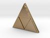 Zelda Triforce Logo Necklace 3d printed