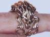 Hedgehog Ring 3d printed Hedgehog ring grabbing a finger