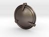 Shield Necklace Pendant 3d printed