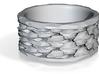 Shark skin ring (various sizes) 3d printed