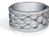 Shark Skin ring: size 8 (US) Q (UK) 3d printed