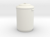 1:24 Garbage Can - Dustbin 3d printed