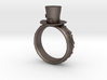 St Patrick's hat ring(size = USA 7-7.5) 3d printed