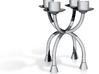 Candlestick functional4 (Ø21-22mm)/Kandelaar 3d printed
