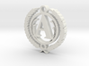 Greek Pendant Letter A 3d printed Test
