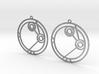 Amelia - Earrings - Series 1 3d printed