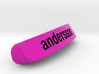 Andersson Nameplate for SteelSeries Rival 3d printed