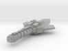 Cybersonic Scimitar Part A 3d printed