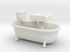 O Scale Bath Fixtures 3d printed