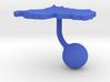Rwanda Terrain Cufflink - Ball 3d printed