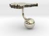 Sudan Terrain Cufflink - Ball 3d printed