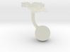 Italy Terrain Cufflink - Ball 3d printed
