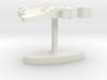 Montenegro Terrain Cufflink - Flat 3d printed
