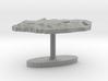 South Africa Terrain Cufflink - Flat 3d printed