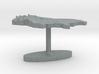 Bulgaria Terrain Cufflink - Flat 3d printed