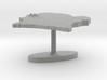 Ivory Coast Terrain Cufflink - Flat 3d printed