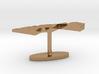Western Sahara Terrain Cufflink - Flat 3d printed