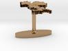 Italy Terrain Cufflink - Flat 3d printed