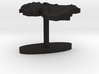 Iran Terrain Cufflink - Flat 3d printed