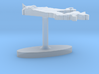 Canada Terrain Cufflink - Flat 3d printed