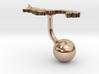 Panama Terrain Cufflink - Ball 3d printed