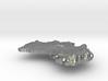 Australia  Terrain Silver Pendant 3d printed