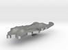 Palau Terrain Silver Pendant 3d printed