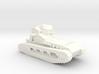 1/100 WW1 Whippet tank 3d printed